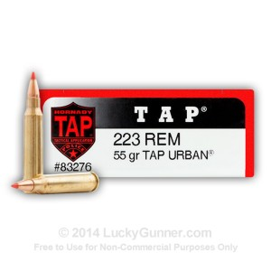 223 Rem 55 gr TAP Urban Polymer Tip Hornady 20 Rounds In
